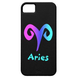 Símbolo azul del zodiaco de la aguamarina del rosa funda para iPhone SE/5/5s