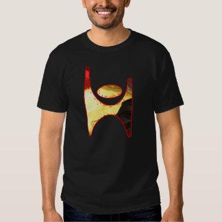 Símbolo Bélgica, camiseta del humanista de Remera