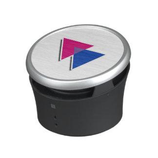 SÍMBOLO BISEXUAL 3D - .png del TRIÁNGULO Altavoz Bluetooth
