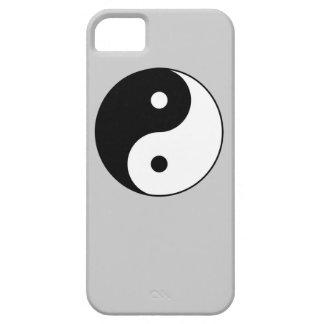 símbolo blanco negro de yang del yin funda para iPhone SE/5/5s