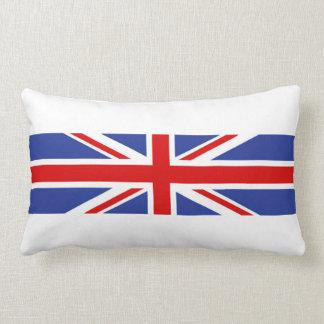 símbolo británico de la nación de la bandera de cojín