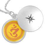 Símbolo budista de OM de la escritura de Siddham