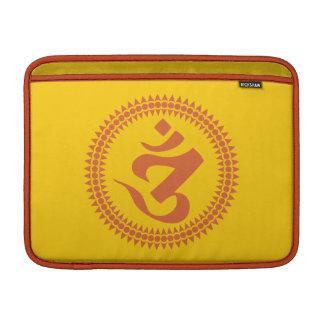 Símbolo budista de OM de la escritura de Siddham Funda MacBook