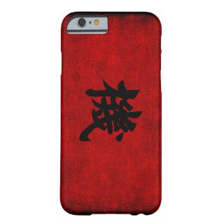 Símbolo chino de la caligrafía para la oportunidad funda de iPhone 6 barely there