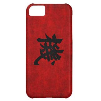 Símbolo chino de la caligrafía para la oportunidad funda para iPhone 5C