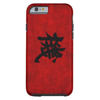 Símbolo chino de la caligrafía para la oportunidad funda para iPhone 6 tough