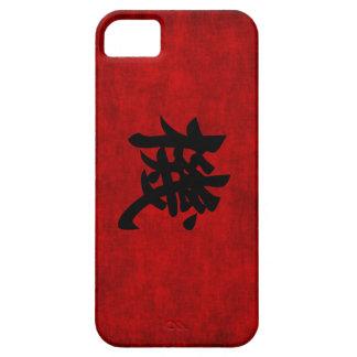 Símbolo chino de la caligrafía para la oportunidad iPhone 5 funda
