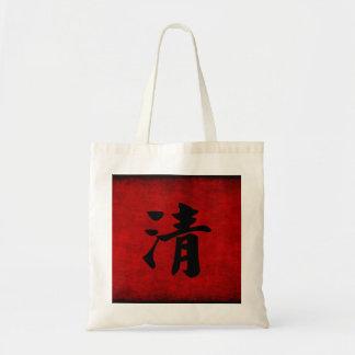 Símbolo chino de la caligrafía para mayor clareza