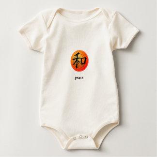 Símbolo chino de la enredadera infantil para la enteritos