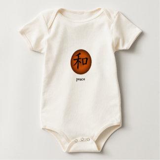 Símbolo chino de la enredadera infantil para la mamelucos
