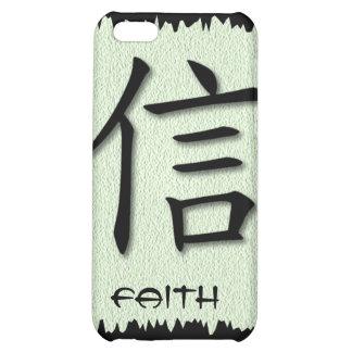 símbolo chino de la fe de los casos del iPhone 4 e