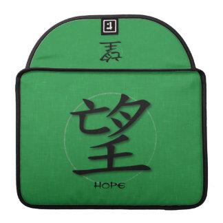 Símbolo chino de la manga de Macbook para la esper Fundas Macbook Pro