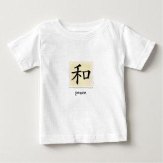 Símbolo chino de las camisetas infantiles para el remeras