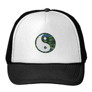 Símbolo chino NVN248 de la balanza de YIN YANG YIN Gorras