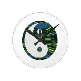 Símbolo chino NVN248 de la balanza de YIN YANG YIN Relojes