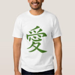 Símbolo chino para el amor camisas