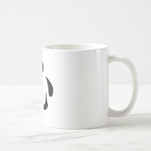 Símbolo chino para el corazón taza de café