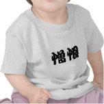 Símbolo chino para el odio camiseta