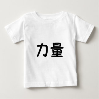 Símbolo chino para la fuerza poleras