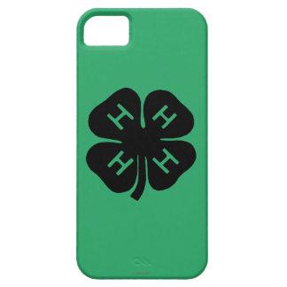 Símbolo: club 4-H iPhone 5 Carcasas
