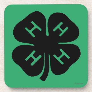 Símbolo: club 4-H Posavasos