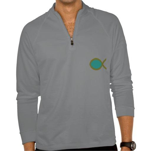 Símbolo cristiano de los pescados camisetas
