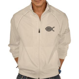 Símbolo cristiano de los pescados de IXOYE - efect Camiseta