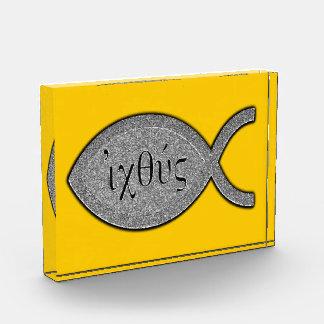 Símbolo cristiano de los pescados de IXOYE - efect