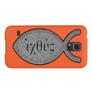 Símbolo cristiano de los pescados de IXOYE - Carcasa Para Galaxy S5