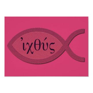 Símbolo cristiano de los pescados de IXOYE - Comunicado Personal