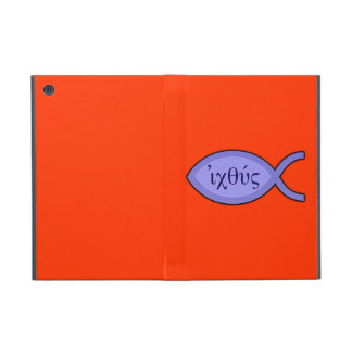 Símbolo cristiano de los pescados de IXOYE - perga iPad Mini Cárcasa