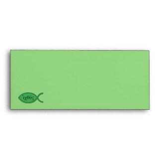 Símbolo cristiano de los pescados de IXOYE - perga