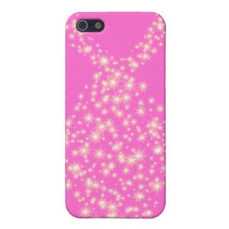 Símbolo cristiano de los pescados del brillo iPhone 5 protectores