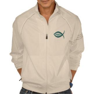 Símbolo cristiano de los pescados del salvador de camisetas