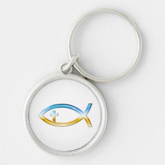 Símbolo cristiano de los pescados llavero