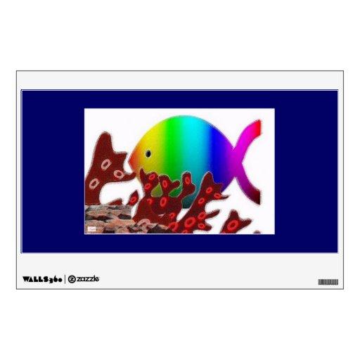 Símbolo cristiano de los pescados - océano del arc