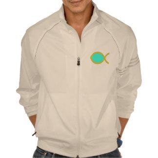Símbolo cristiano de los pescados camiseta