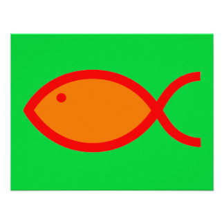¡Símbolo cristiano de los pescados - RUIDOSAMENTE Invitaciones Personalizada