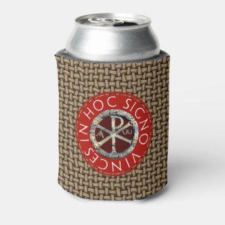 Símbolo cristiano temprano enfriador de latas