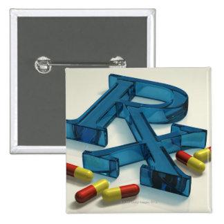 símbolo de 3D RX con las cápsulas Pin Cuadrado