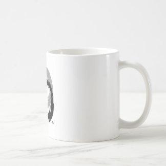 Símbolo de Advaita Taza Básica Blanca