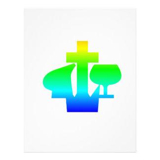 Símbolo de Alliance del cristiano y del misionario Plantillas De Membrete
