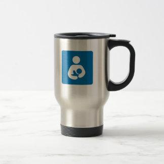 símbolo de amamantamiento internacional taza térmica