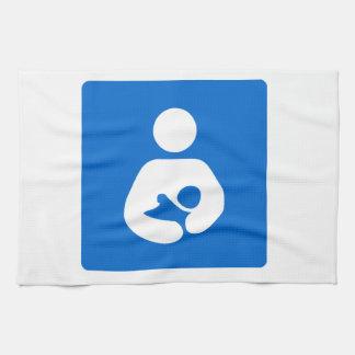 Símbolo de amamantamiento internacional toalla