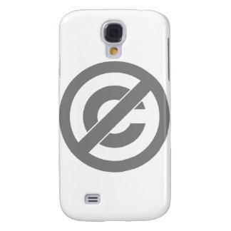 Símbolo de Anti-Copyright del public domain Funda Para Galaxy S4