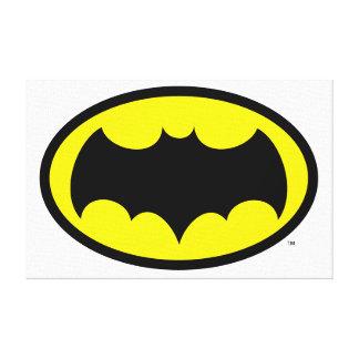 Símbolo de Batman Impresion De Lienzo