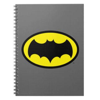 Símbolo de Batman Libro De Apuntes Con Espiral