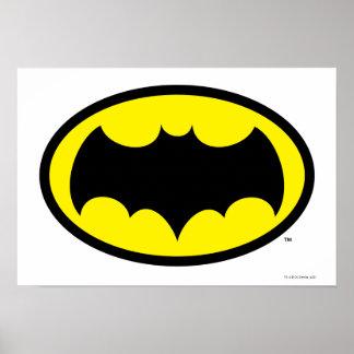 Símbolo de Batman Póster