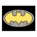 Símbolo de Batman Showtime Postales