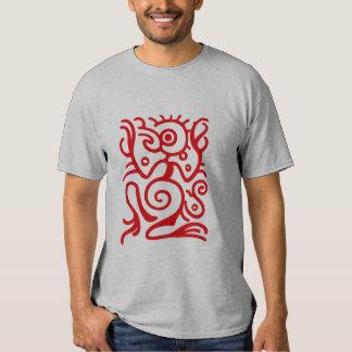 Símbolo de Birdman del maya Camisas